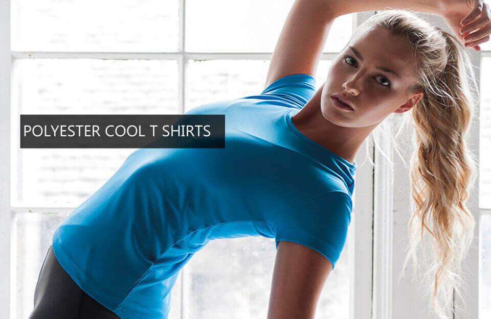 POLYESTER COOL T SHIRTS