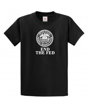 Maneco64 - End The Fed T Shirt