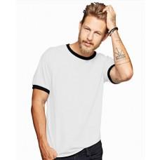 Personalised Anvil Heavy Ringer T-Shirt