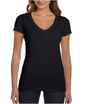 V Neck Custom Printing Tees - V Neck T Shirts Online