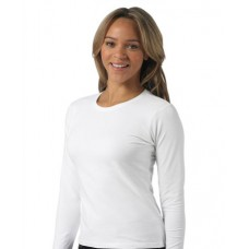 Customised Russell Ladies-Fitted Long sleeve T-Shirt