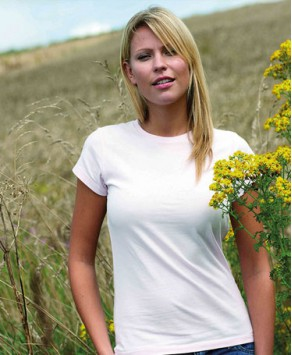 Personalised Okarma Womens 100% Organic Tee