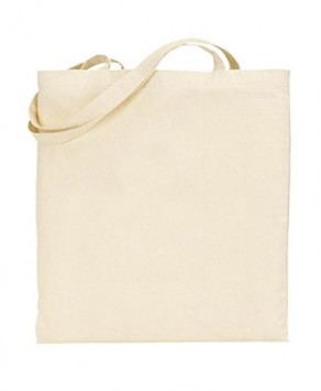 Natural Grey 100% Cotton Tote Bag with logo print