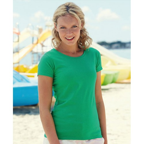 Personalised Fruit of the Loom Feminine-fit Value Cotton Tee