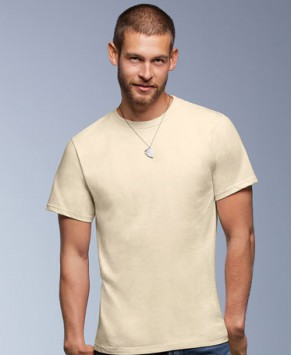 Anvil Organic Custom Printed T-Shirt
