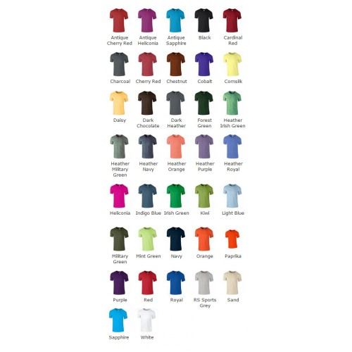 Design Your Own Unisex Gildan Softstyle Ringspun T-Shirt