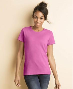 Personalised Gildan Lady-Fit Heavy Cotton T-shirt
