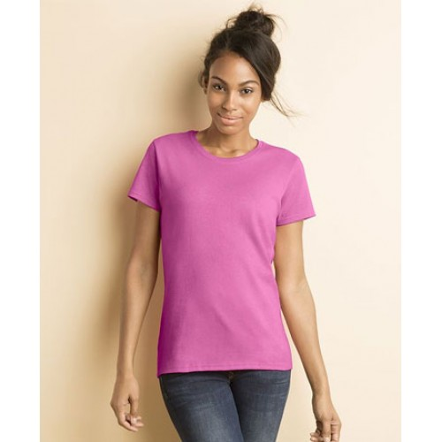 Personalised Gildan Lady-Fit Heavy Cotton T-shirt