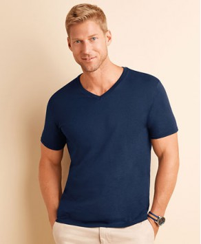 Gildan Mens Quality Soft Style V Neck