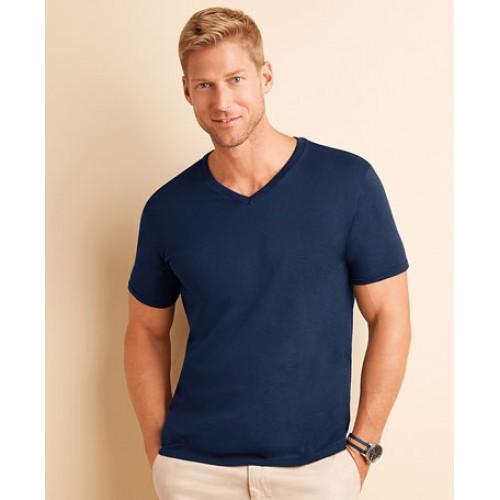 Gildan Mens Quality Soft Style V Neck