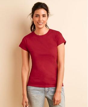Customised Gildan Feminine Softstyle™ Ringspun T-shirt