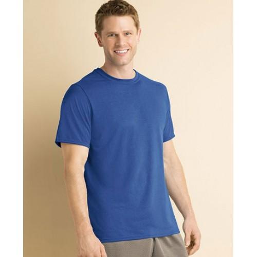 customised gildan polyester performance t shirt