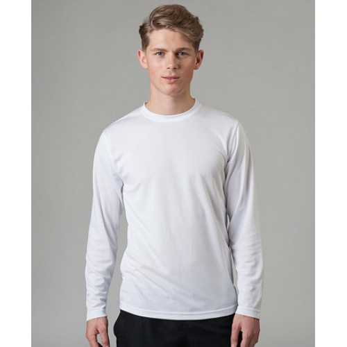 AWD Cool Polyester Sports Long Sleeve Custom Logo T-Shirt