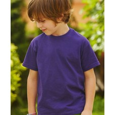 Fruit of the Loom Youngsters Valueweight 100% Cotton T-Shirt